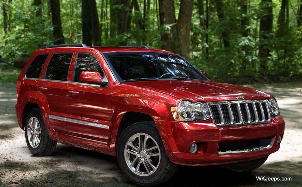 2009 jeep grand cherokee WK