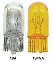 194 and 194NA bulbs