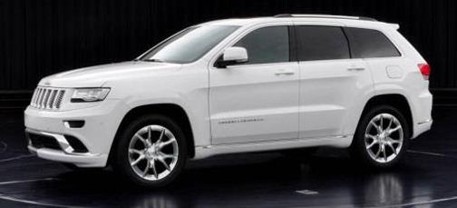 """2015 Grand Cherokee Summit with Platinum Series Group (""""California"""" Package)"""