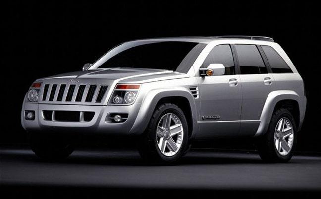 1999 jeep commander concept