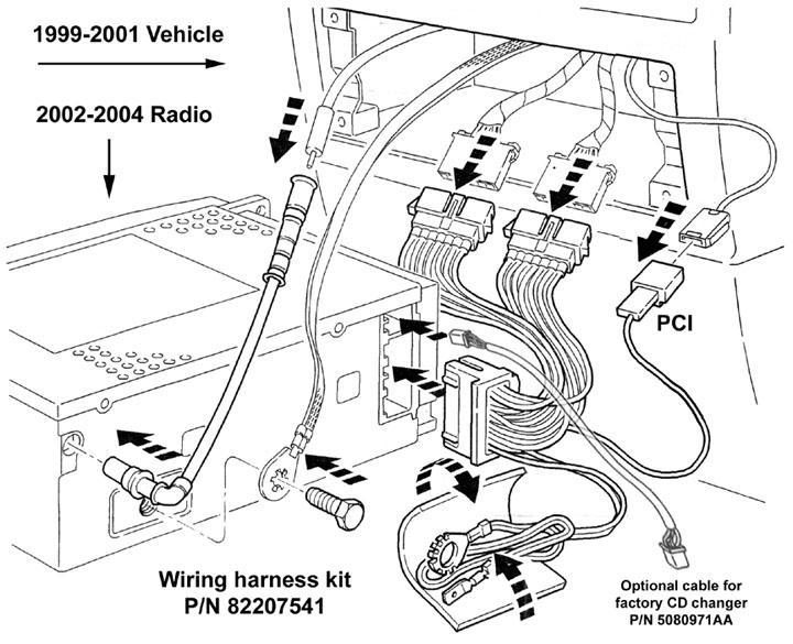 Jeep Wj Grand Cherokee Upgrade The, 2007 Jeep Grand Cherokee Srt8 Stereo Wiring Diagram