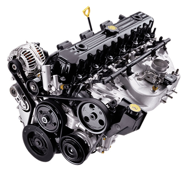 4L AMC inline six cylinder engine