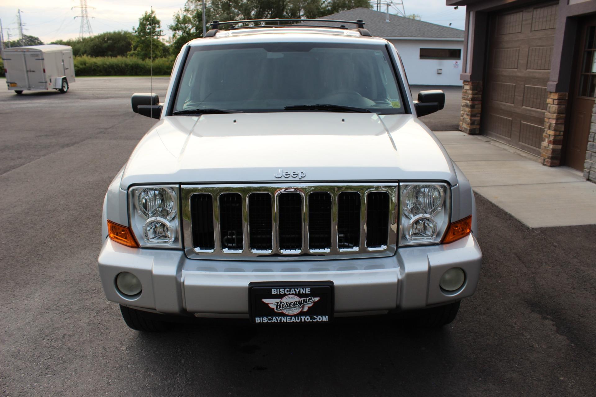 2008 jeep commander front end