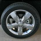 WK Painted satin cast aluminum wheel