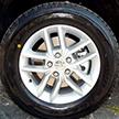 Aluminum wheels with high gloss Satin Silver finish