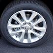 Aluminum wheels with Satin Silver finish