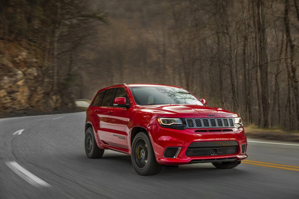 2018 Jeep Grand Cherokee wallpapers