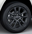 Aluminum wheels, Painted Granite Crystal Satin-Gloss