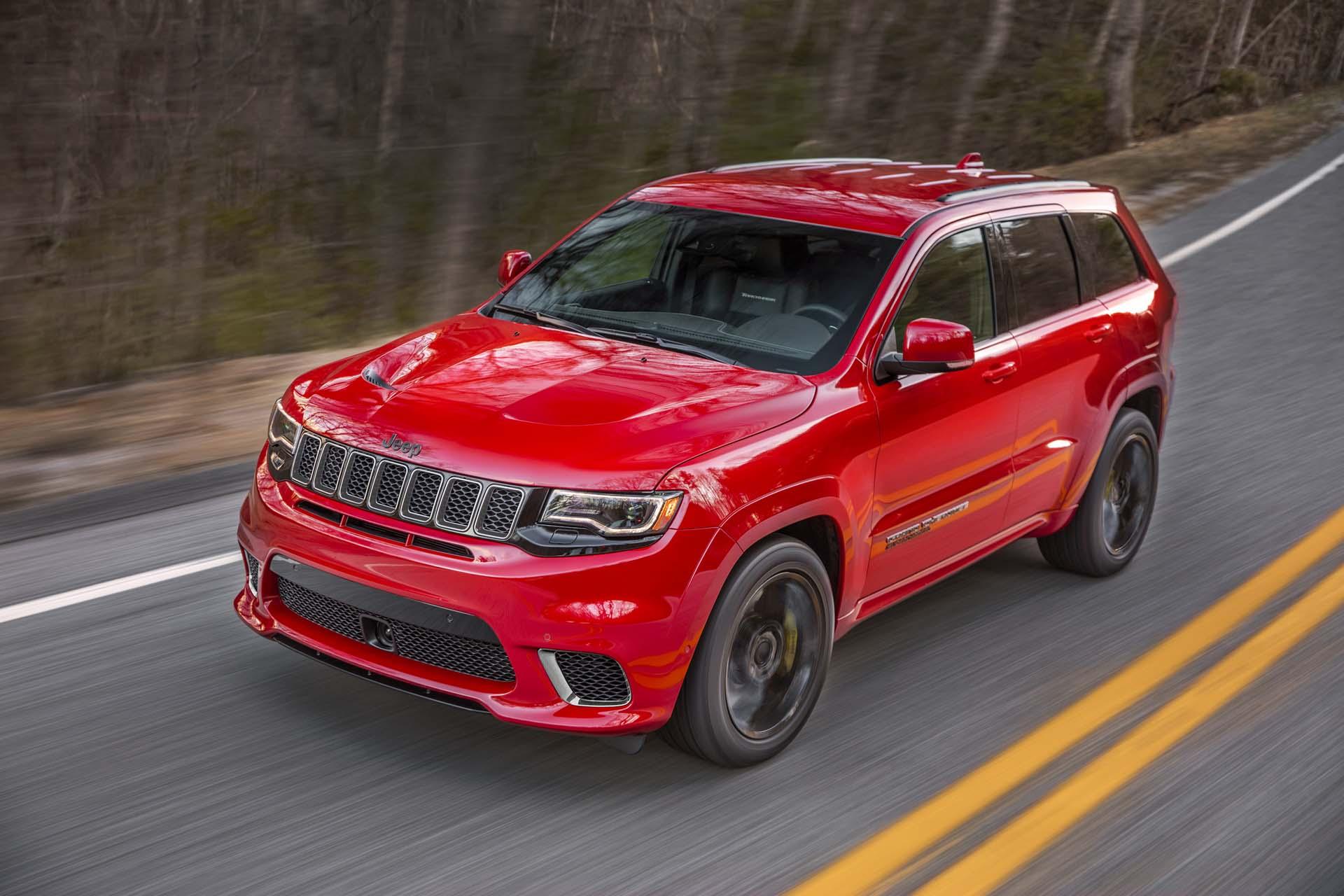 2019 Jeep Grand Cherokee wallpapers