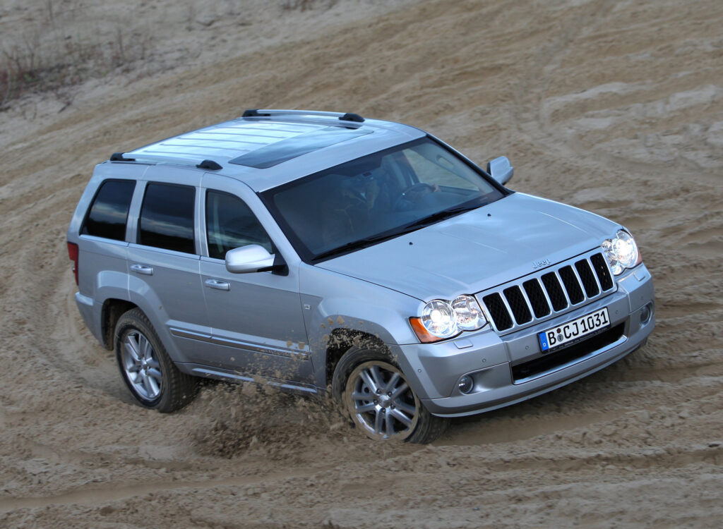 2008 Jeep Grand Cherokee wallpapers