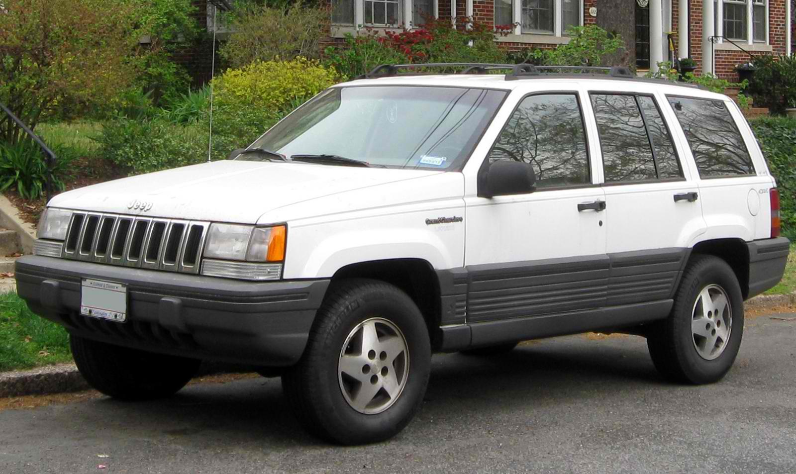 Stone White 1997 Grand Cherokee