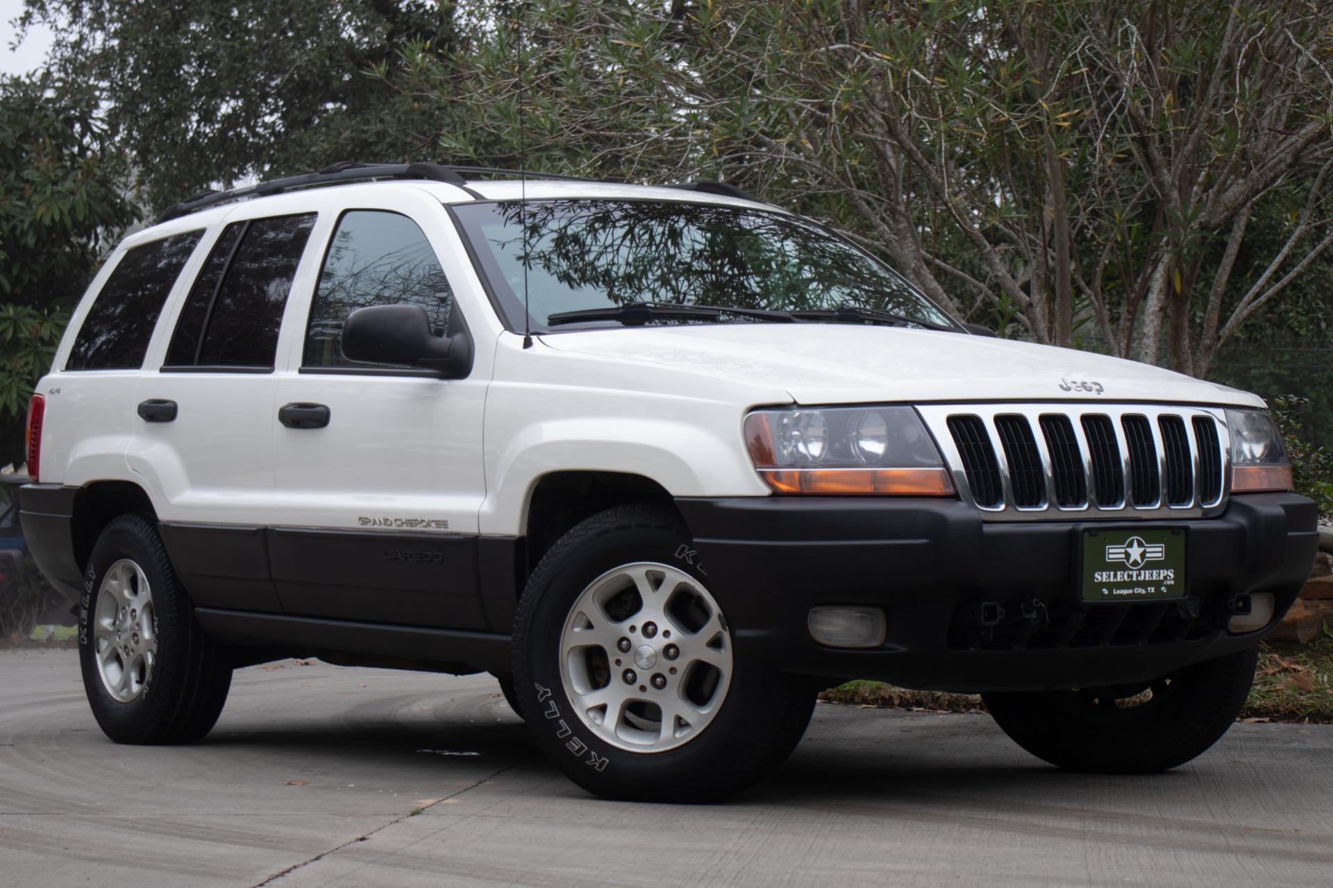 Stone White 2000 Grand Cherokee