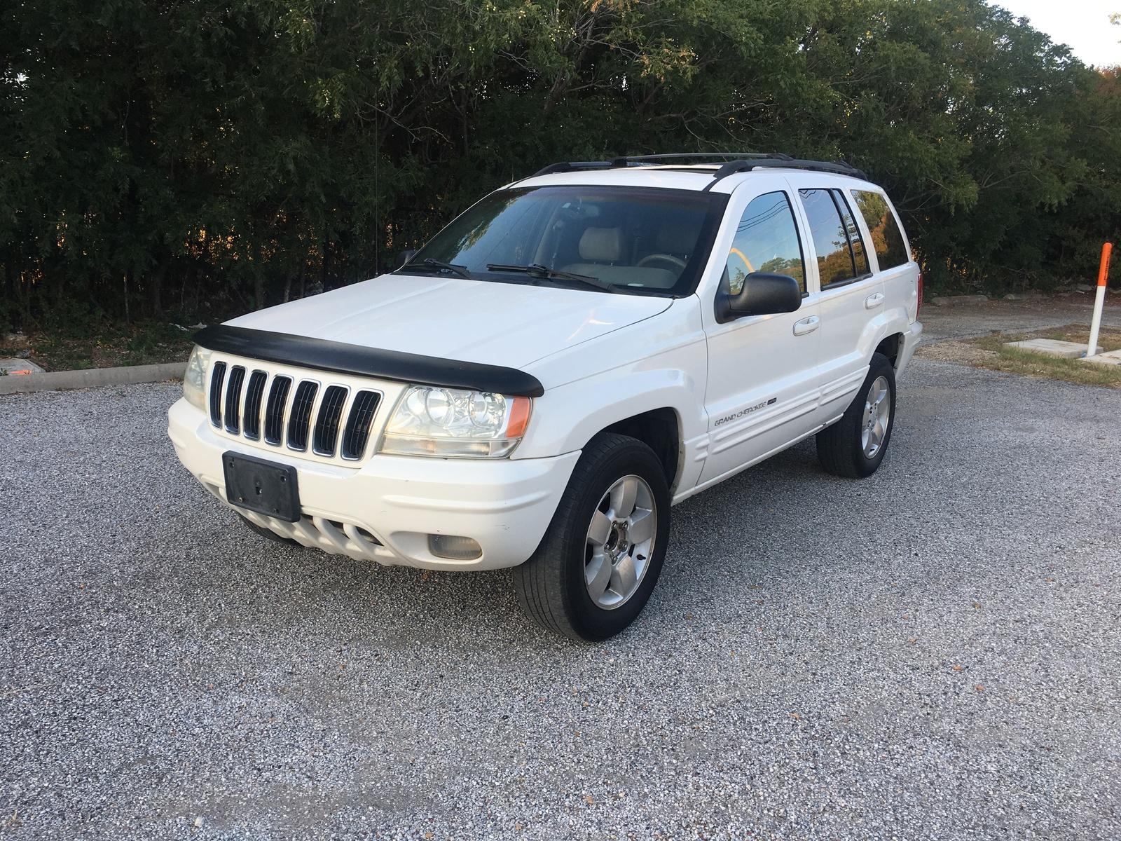 Stone White 2001 Grand Cherokee Limited