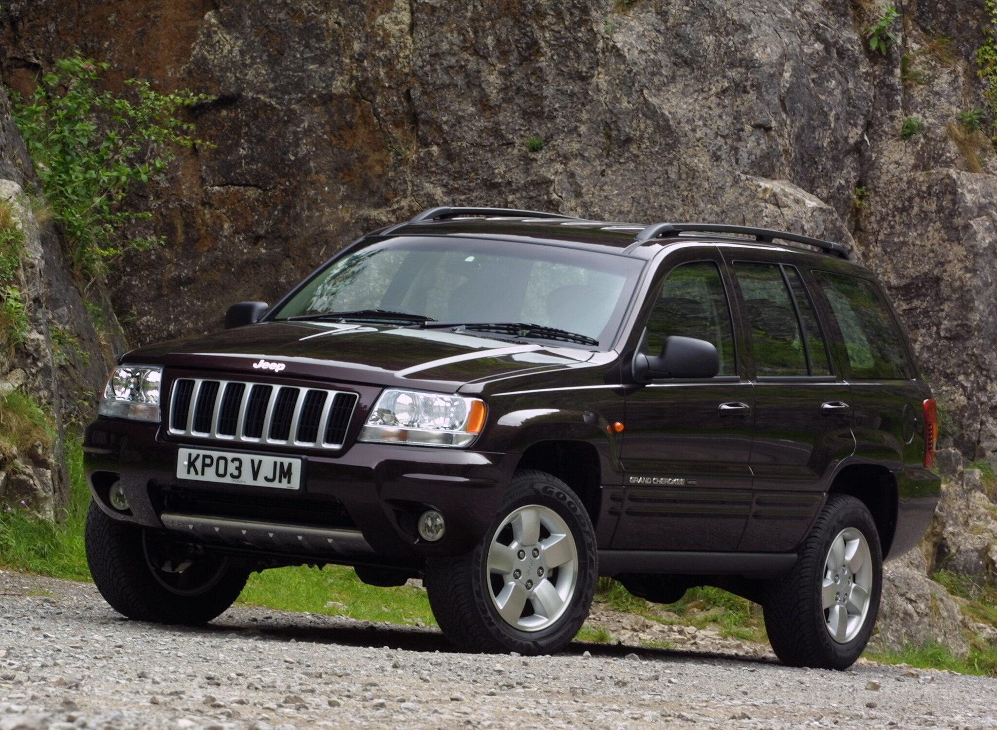 Brilliant Black 2003 Grand Cherokee
