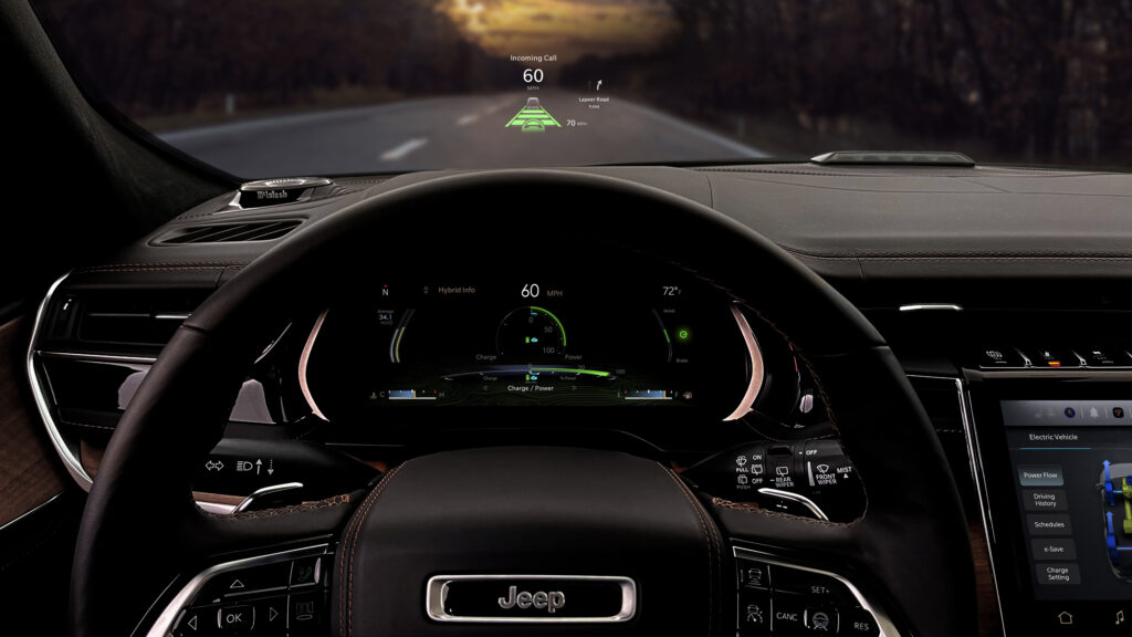 All-new 2022 Jeep Grand Cherokee 4xe Summit Reserve interior