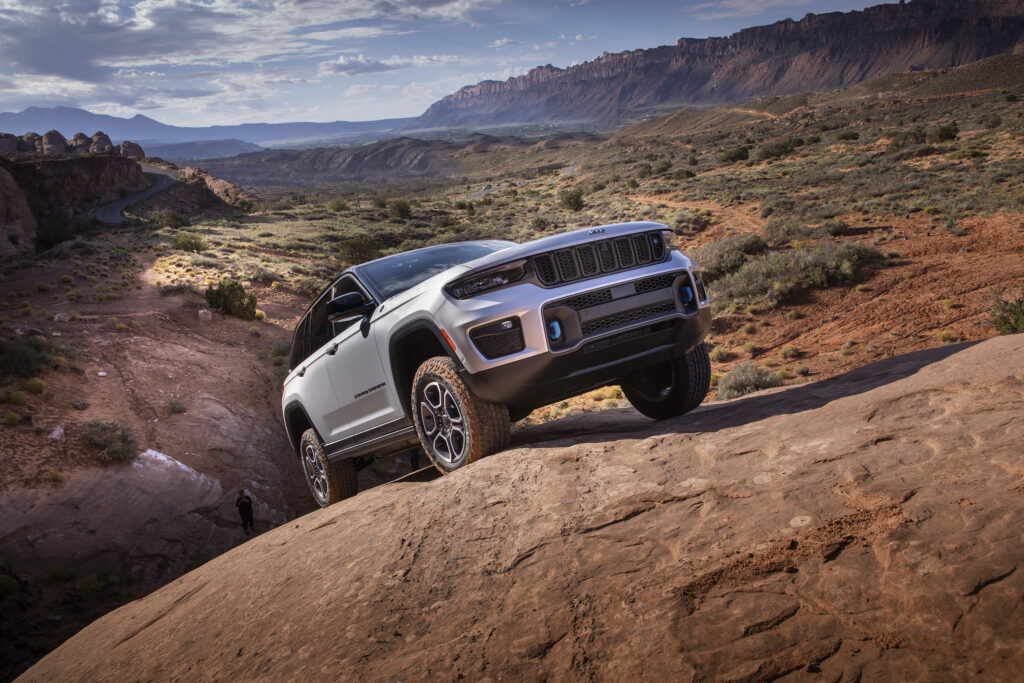 All-new 2022 Jeep® Grand Cherokee Trailhawk 4xe